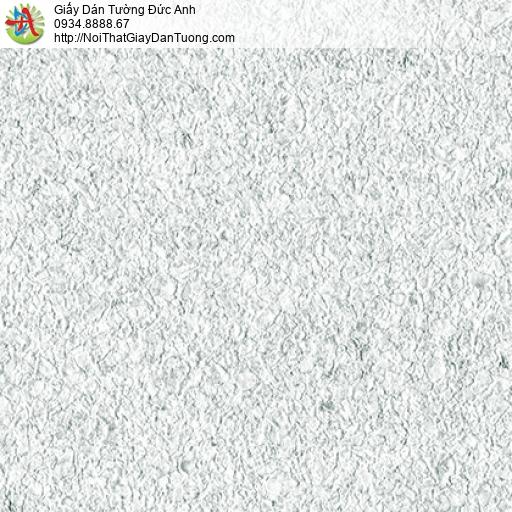 3816-1 Giấy dán tường dạng hạt cát lớn, phun gai nhỏ màu trắng xám
