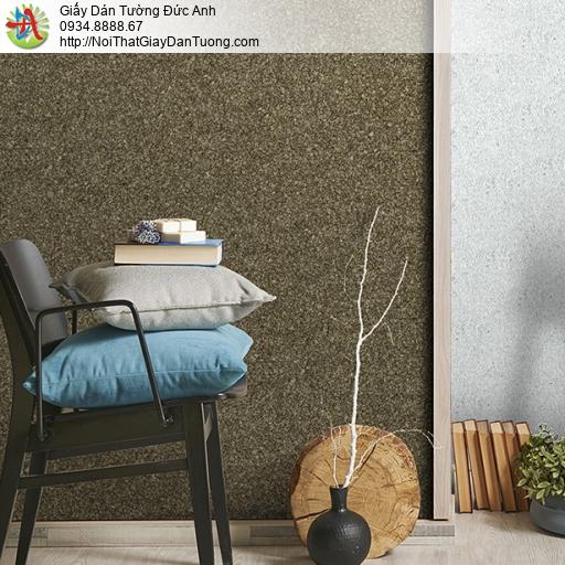 3816-2 Giấy dán tường dạng phun gai nhỏ màu vàng đậm, giấy gân lớn thô