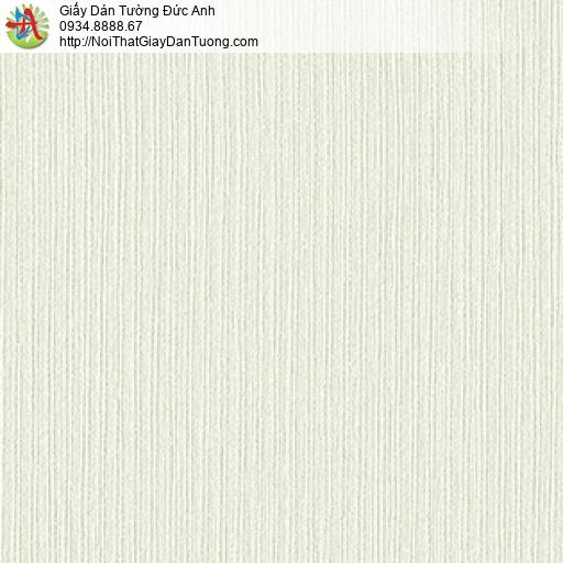 3821-2 Giấy dán tường sọc nhỏ mờ, vân chìm màu vàng kem, giấy Việt Nam