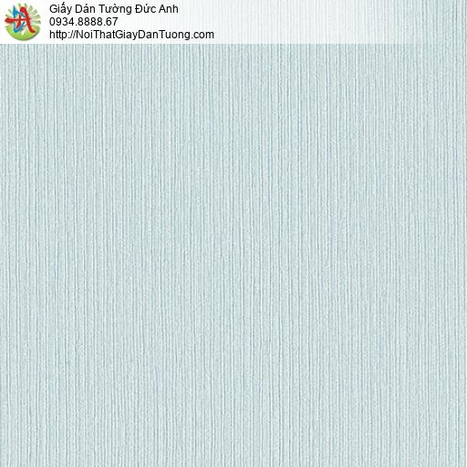 3821-4 Giấy dán tường kẻ sọc nhỏ màu xanh lơ, thợ dán giấy dán tường