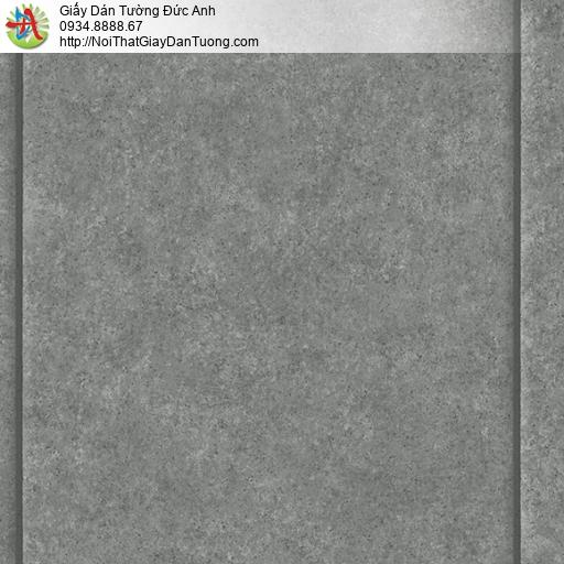 3822-3 Giấy dán tường giả bê tông màu tối mới nhất 2020, màu bê tông