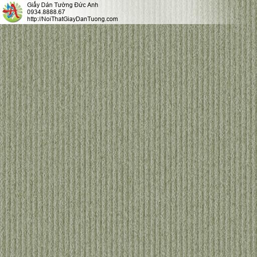 3824-3 Giấy dán tường gân sọc nhỏ màu cốm nhạt hiện đại 2020