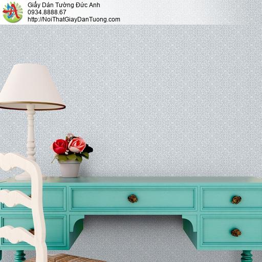 3831-3 Giấy dán tường hoa văn cổ điển màu xám, phong cách Châu Âu