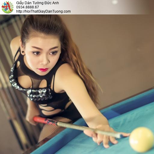 DA304 - Trang trí phòng chơi bida đẹp tại Quận 6 Tphcm, quán bi a đẹp