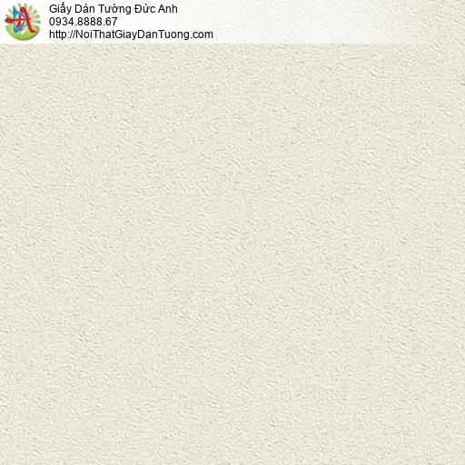63102 - Giấy dán tường dạng trơn màu kem, giấy gân màu vàng kem nhạt