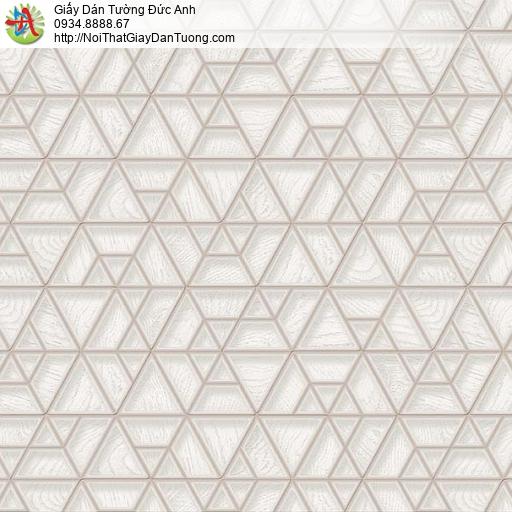 63041 - Giấy dán tường họa tiết các đường kẻ 3d màu xám nhạt
