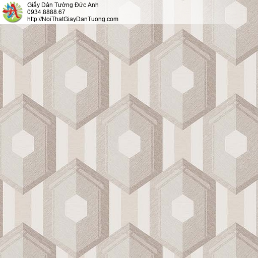 63051 - Giấy dán tường 3D màu vàng nhạt, giấy dán tường điểm nhấn