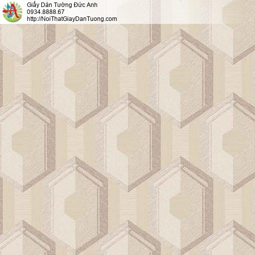 63054 - Giấy dán tường 3D màu vàng đất, màu nâu nhạt cho điểm nhấn
