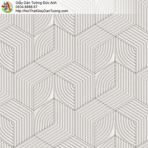 63072 - Giấy dán tường lập thể trắng đen cảm giác 3D đẹp