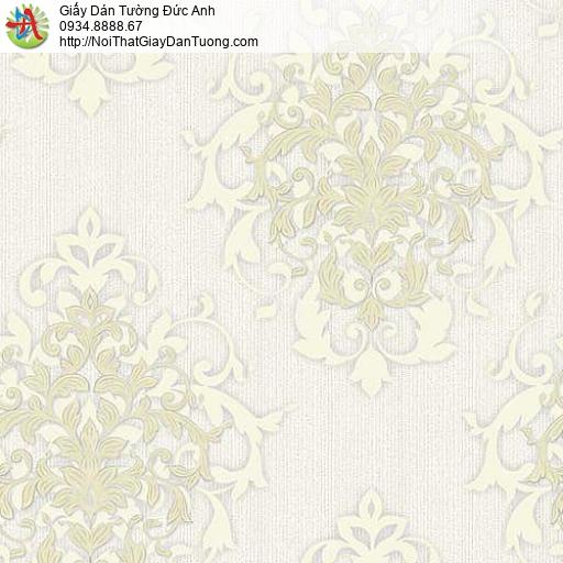 10051 - Giấy dán tường hoa văn cổ điển phong cách Châu Âu