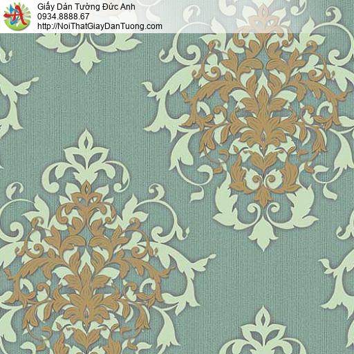 10054 - Giấy dán tường họa tiết Châu Âu, phong cách cổ điển cũ