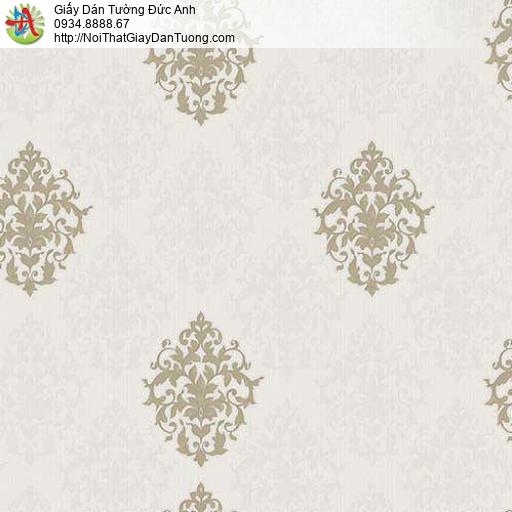 10061 - Giấy dán tường hoa vân cổ điển Châu Âu, giấy dán tường đẹp