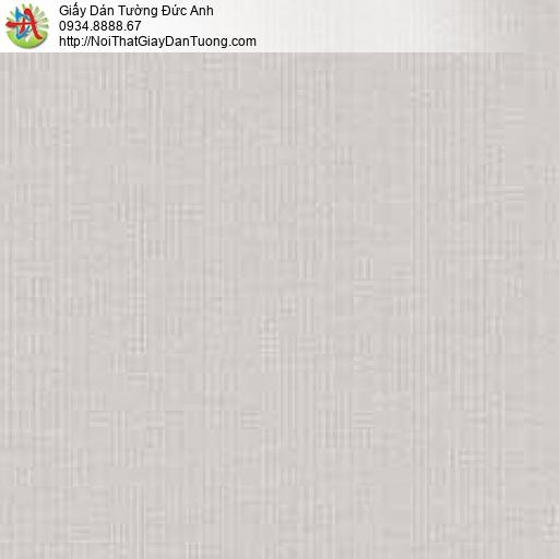 10072 - Giấy dán tường trơn màu xám, giấy gân trơn màu nâu nhạt