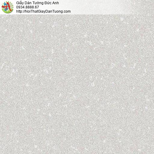 10141 - Giấy dán tường họa tiết đơn giản màu xám, hoa văn đơn giản