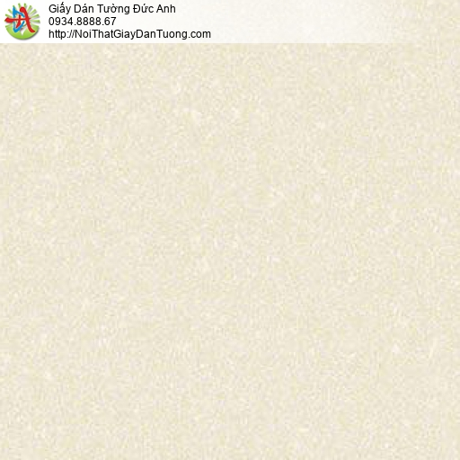10142 - Giấy dán tường gân đơn giản màu vàng nhạt, giấy trơn đơn giản