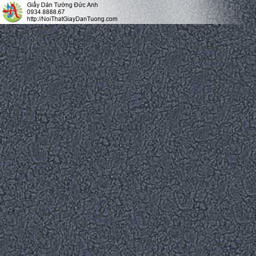 10154 - Giấy dán tường vân to, gân lớn màu xanh than, màu xanh biển
