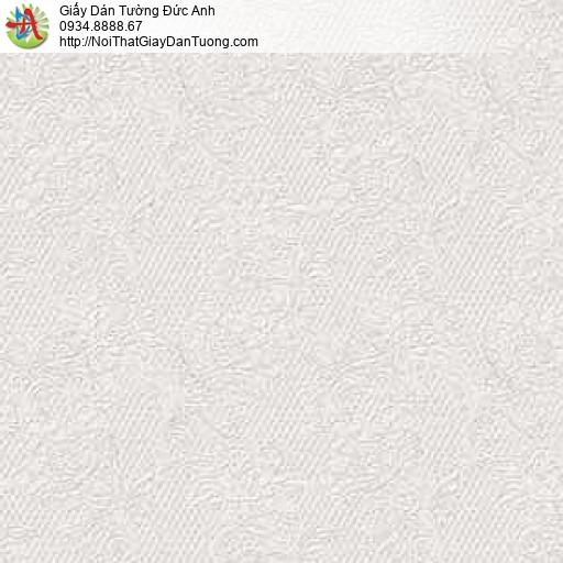 63091 - Giấy dán tường bông hoa nhỏ vân chìm màu xám