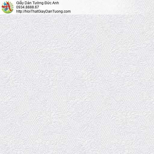 63092 - Giấy dán tường hoa văn dây leo màu trắng, hoa văn dây leo