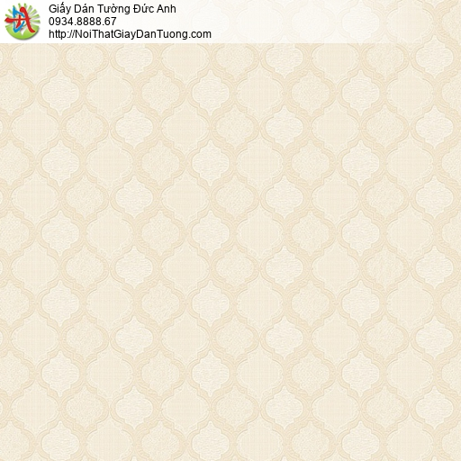 8802-3 - Giấy dán tường nền ca rô màu vàng nhạt, màu cam nhạt