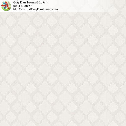 8802-4 - Giấy dán tường hình họa tiết ca rô màu xám kem, xám nhạt