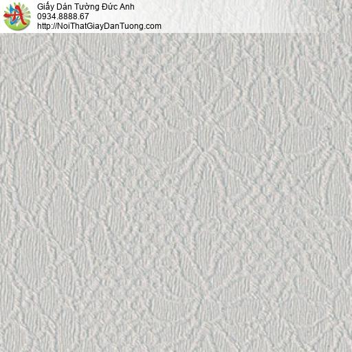 8803-3 - Giấy dán tường hoa văn trìm màu xám, hoa văn ẩn màu xám tro