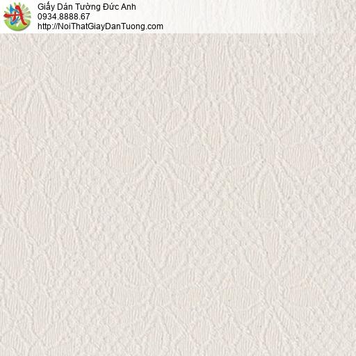 8803-4 - Giấy dán tường màu hồng nhạt hoa văn ẩn, họa tiết vân chìm