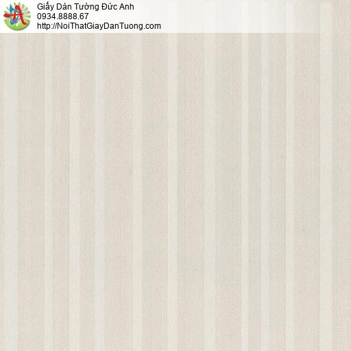 8809-1 - Giấy dán tường dạng kẻ sọc màu xám, bán giấy dán tường quận 6