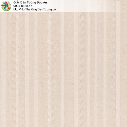 8809-2 - Giấy dán tường dạng kẻ sọc màu hồng, bán tại Huyện Bình Chánh