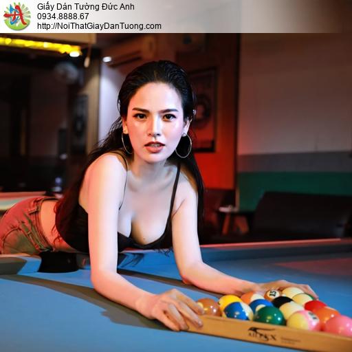 DA342 - Hot girl Phi Huyền Trang chụp hình chơi bida đẹp, sexy girl