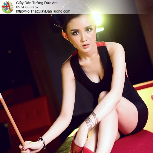 DA399 - Tranh dán tường dành cho billard, Billiards & Snooker, Pool
