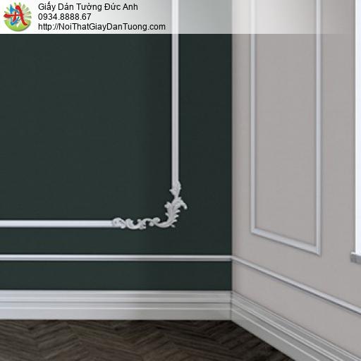 25022-3 - Giấy dán tường gân màu xám, giấy dạng trơn màu xám nhạt 2020