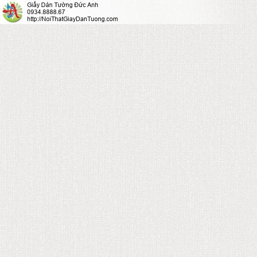 25036-3 - Giấy dán tường gân trơn, giấy trơn gân màu xám kem đơn giản