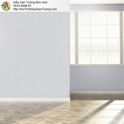 25036-5-Giấy dán tường màu xám, gân xám, trơn xám, giấy dán tường trơn