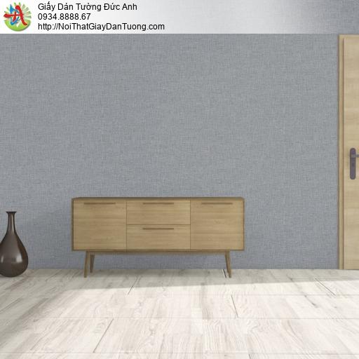 25040-5 - Giấy dán tường màu xám, giấy gân trơn đơn giản hiện đại