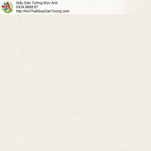 25040-6 - Giấy dán tường màu vàng kem, gân kem, trơn kem, vàng nhạt
