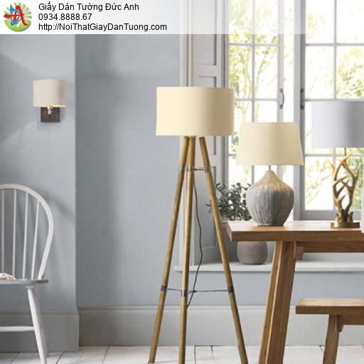 25045-4 - Giấy dán tường màu xám, giấy gân đơn giản hiện đại màu xám