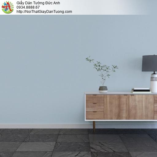 25045-10- Giấy dán tường màu xanh nhạt, giấy trơn màu xanh lơ đơn giản