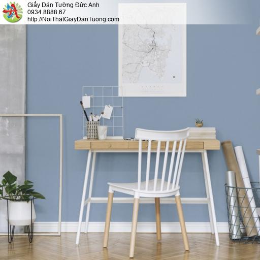 25045-11 - Giấy dán tường màu xanh biển, giấy dán tường xanh nước biển