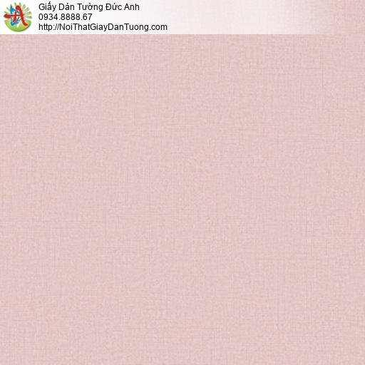 25046-5 - Giấy dán tường gân màu hồng, giấy màu hồng đẹp nhất 2020