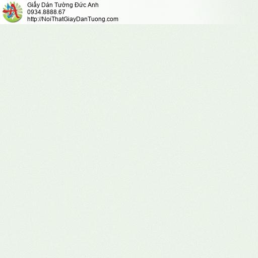 25047-3 - Giấy dán tường màu xanh lá nhạt, giấy gân trơn đơn giản mới