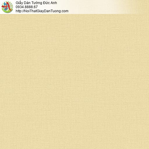 25048-5 - Giấy dán tường màu vàng, giấy gân trơn đơn giản màu vàng