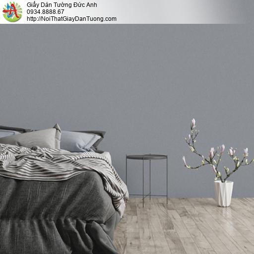 25049-6 - Giấy dán tường màu xám đậm, giấy đơn giản màu xám tro