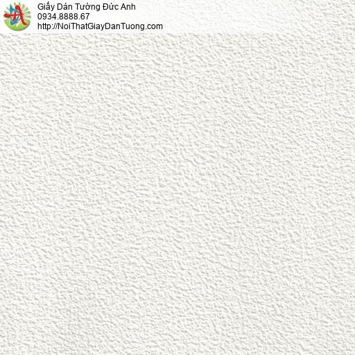 65000-2 - Giấy dán tường gân to màu trắng, giấy gân lớn trắng tinh