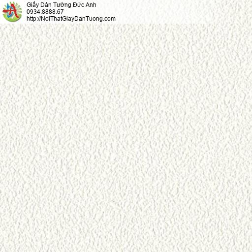 65002-1 - Giấy dán tường màu trắng gân to, giấy dán có tường kim tuyến