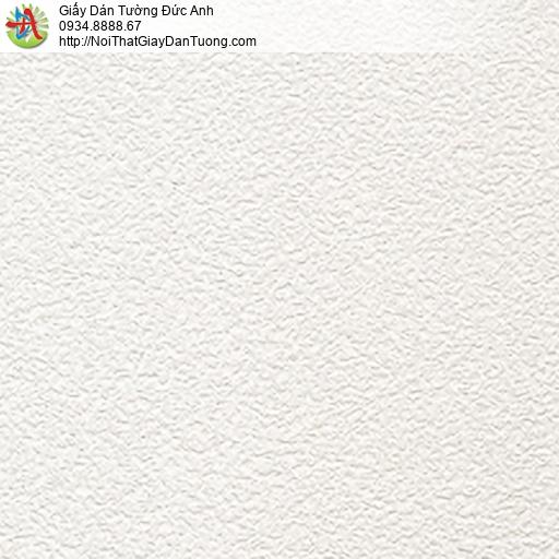 66000-3 - Giấy dán tường màu trắng, giấy gân trắng kim tuyến 2020