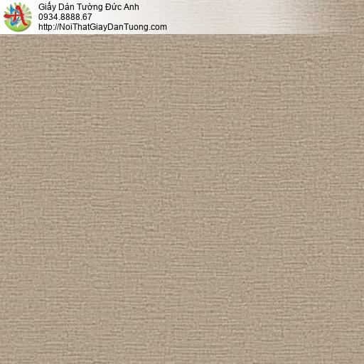 70199-5 - Giấy dán tường màu nâu vàng, giấy gân to một màu hiện đại