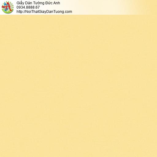 70216-6 Giấy dán tường màu vàng tươi, giấy một màu trơn đơn giản mới