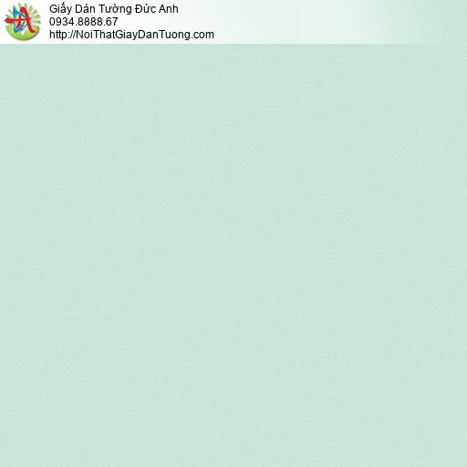 70216-7 Giấy dán tường màu xanh lá cây, giấy trơn một màu đơn giản