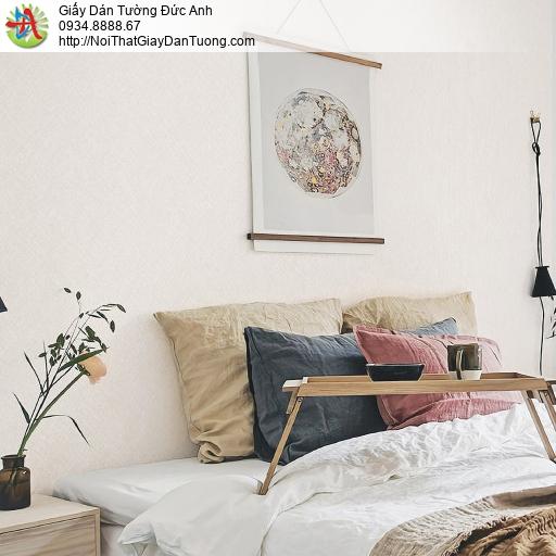 70221-7 - Giấy dán tường gân màu kem, giấy dán tuồng một màu đơn sắc