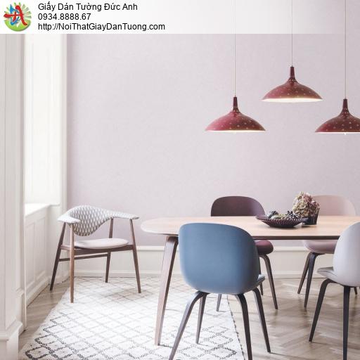 70221-8 Giấy dán tường màu tím nhạt, giấy dán tường màu hồng phấn nhạt
